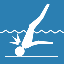 diving accidents icon